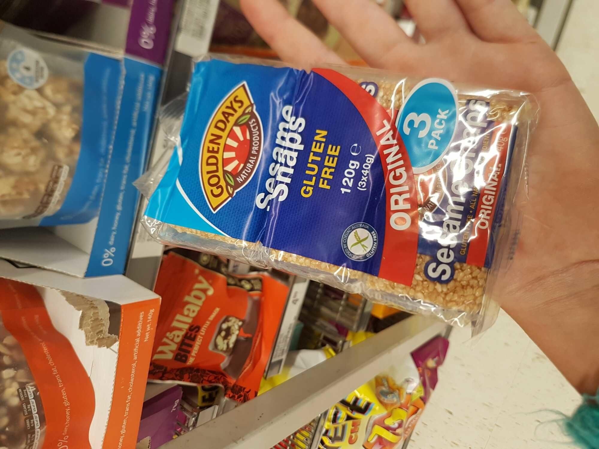Sesame snaps - Product - en