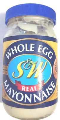 S &W Real Whole Egg Mayonnaise - Product