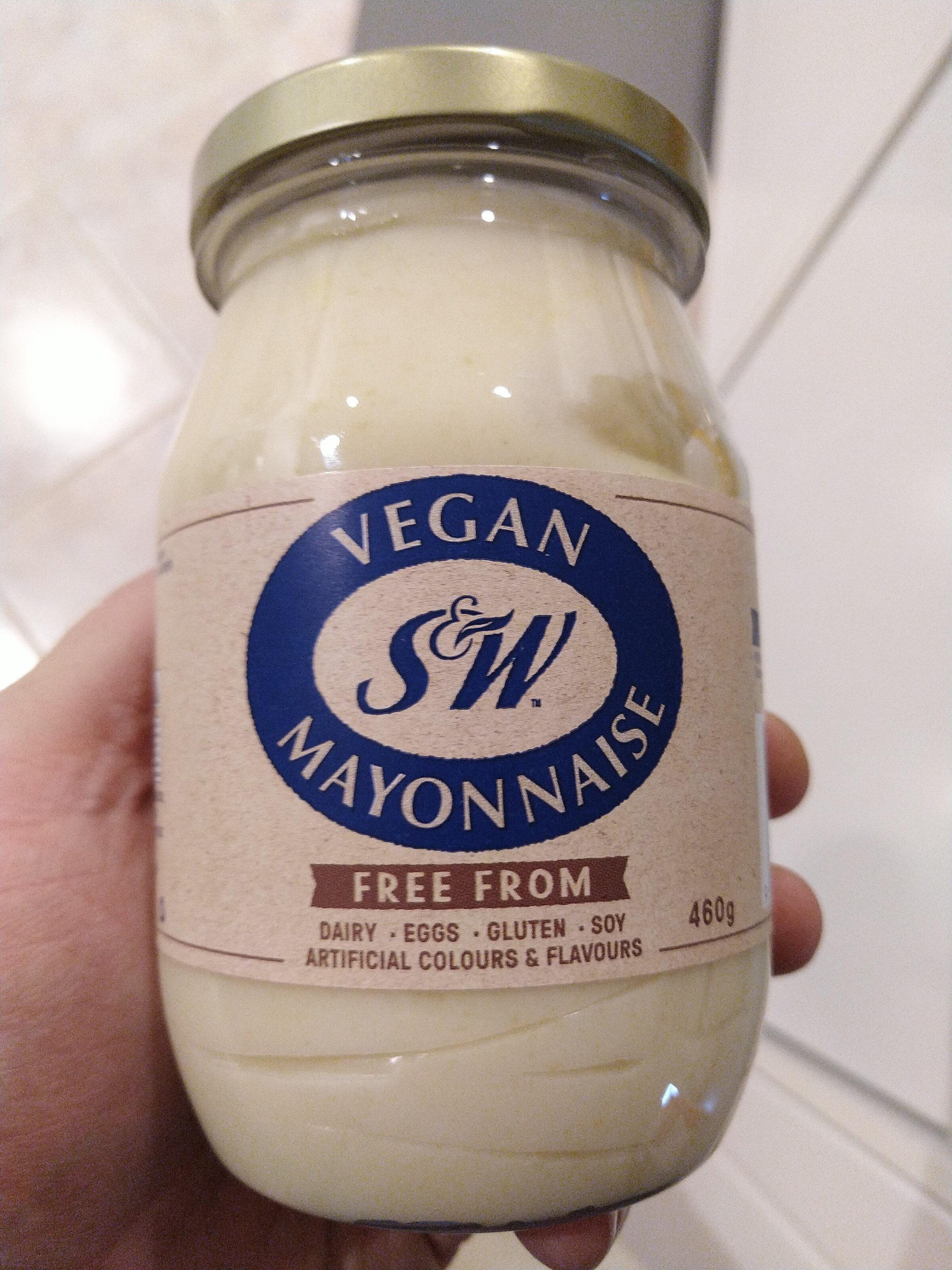 S&W Vegan Mayonnaise - Produit - en