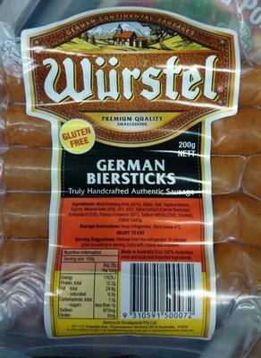 Wurstel German Biersticks - Product