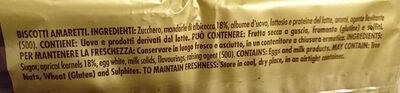 Biscotti - Ingredients - en