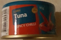 Coles Tuna Spicy Chilli - Product