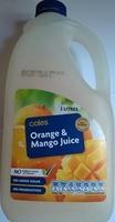 Orange & Mango Juice - Product