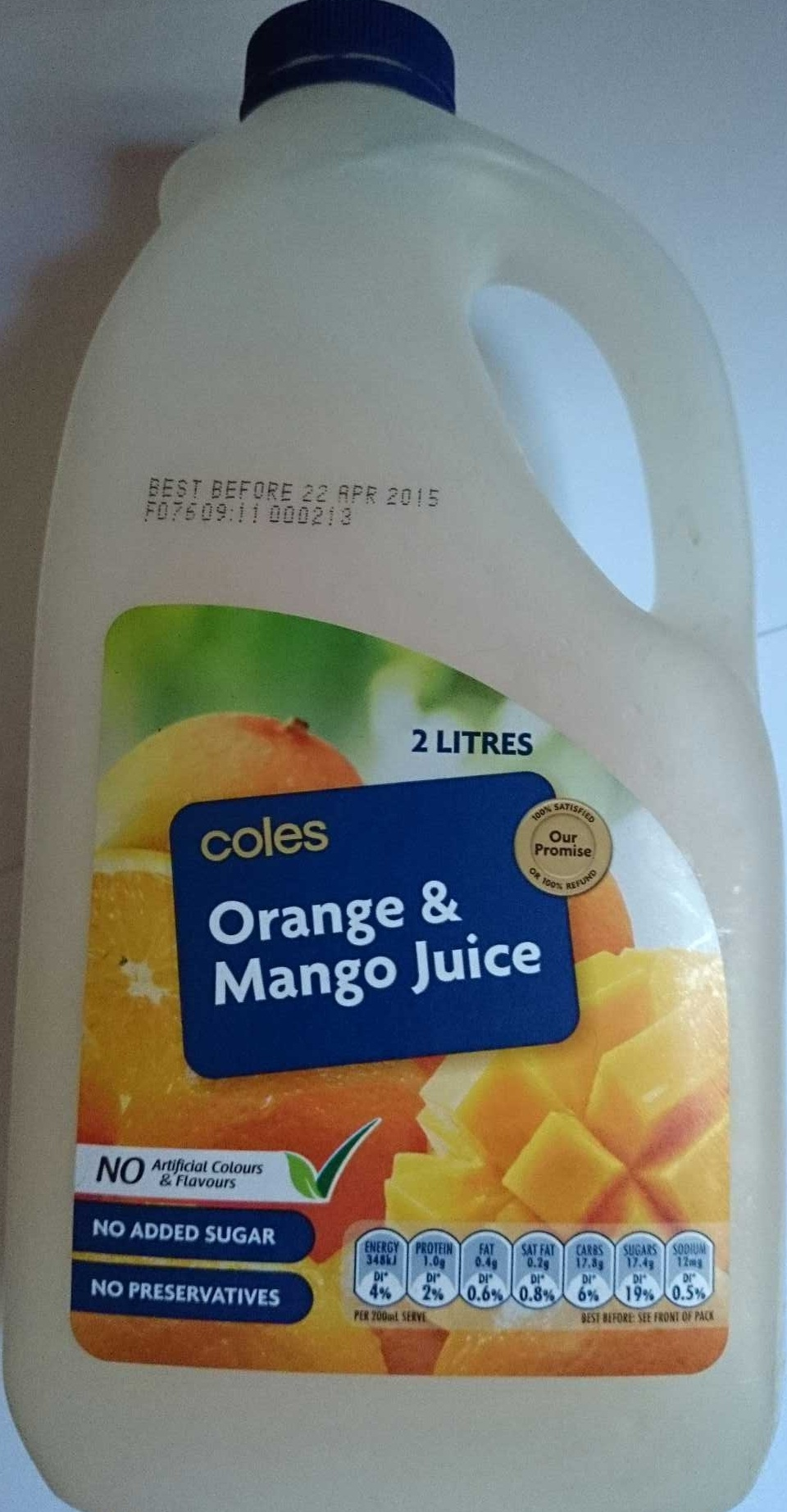Orange & Mango Juice - Product - en