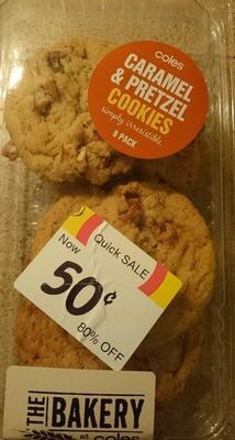 Caramel & Pretzel Cookies - Product - en