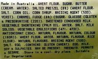 Caramel & Pretzel Cookies - Ingredients - en