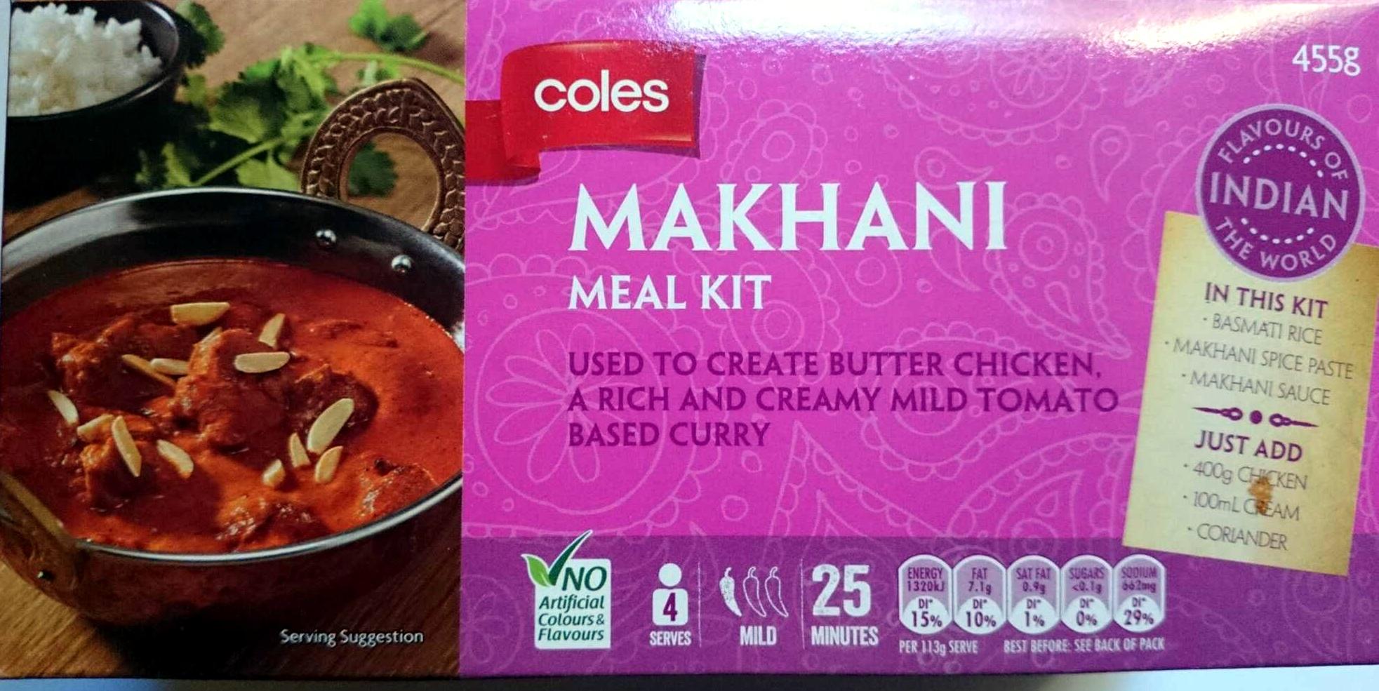 Makhani Meal Kit - Product - en