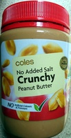 Peanut Butter Crunchy - No added Salt - Product - en