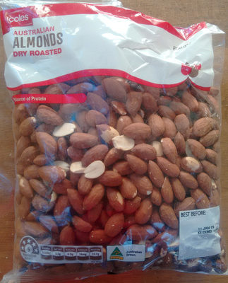 Almonds, Dry Roasted - Product
