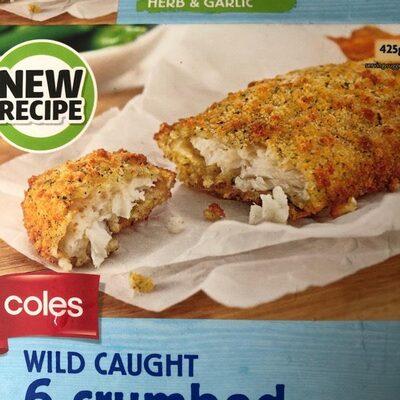 Crumbed white fish - 1