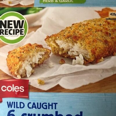 Crumbed white fish - Product