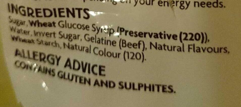 Marshmallows - Ingredients - en