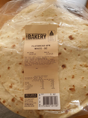 Flatbread 6PK White - SC - Produit - en