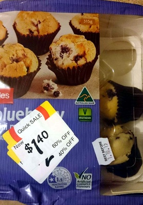 Blueberry Muffins - Product