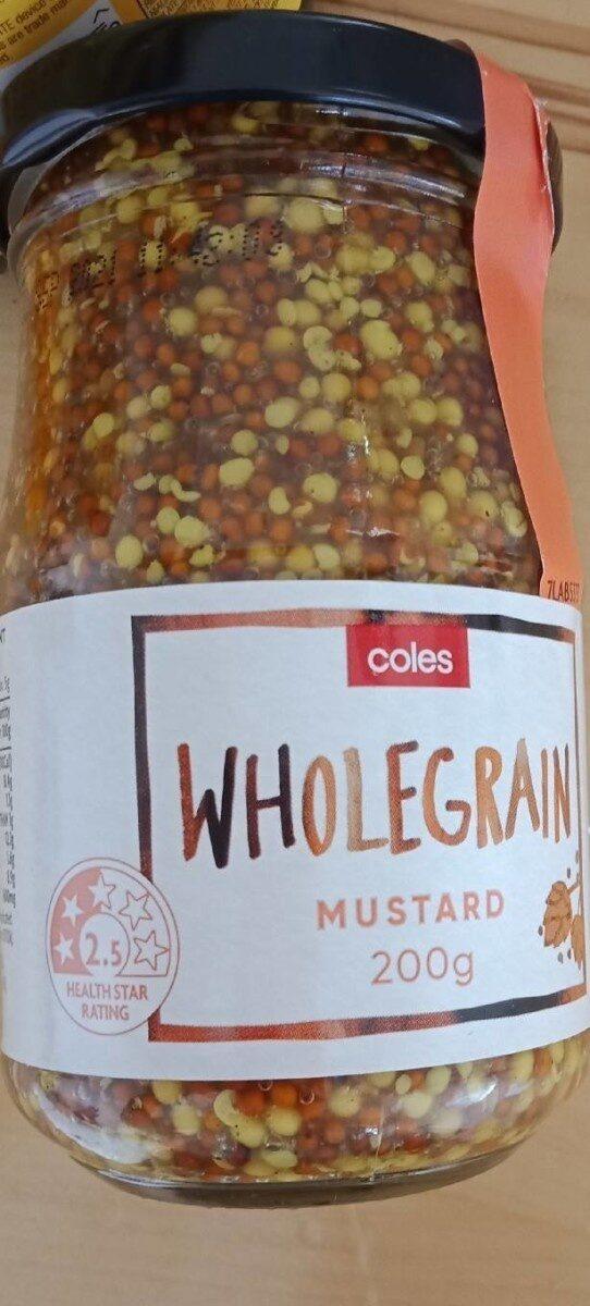 Wholegrain mustard - Product - en