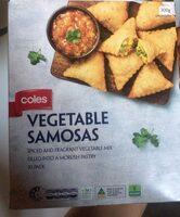 Vgetable samosas - Product - en