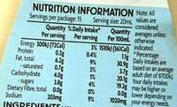 Coleslaw Dressing - Nutrition facts
