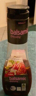 Balsamic dressing - Product - en