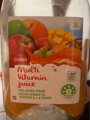 Multi Vitamin Juice - Product