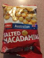 Coles Australian Salted Macadamias - Product - en