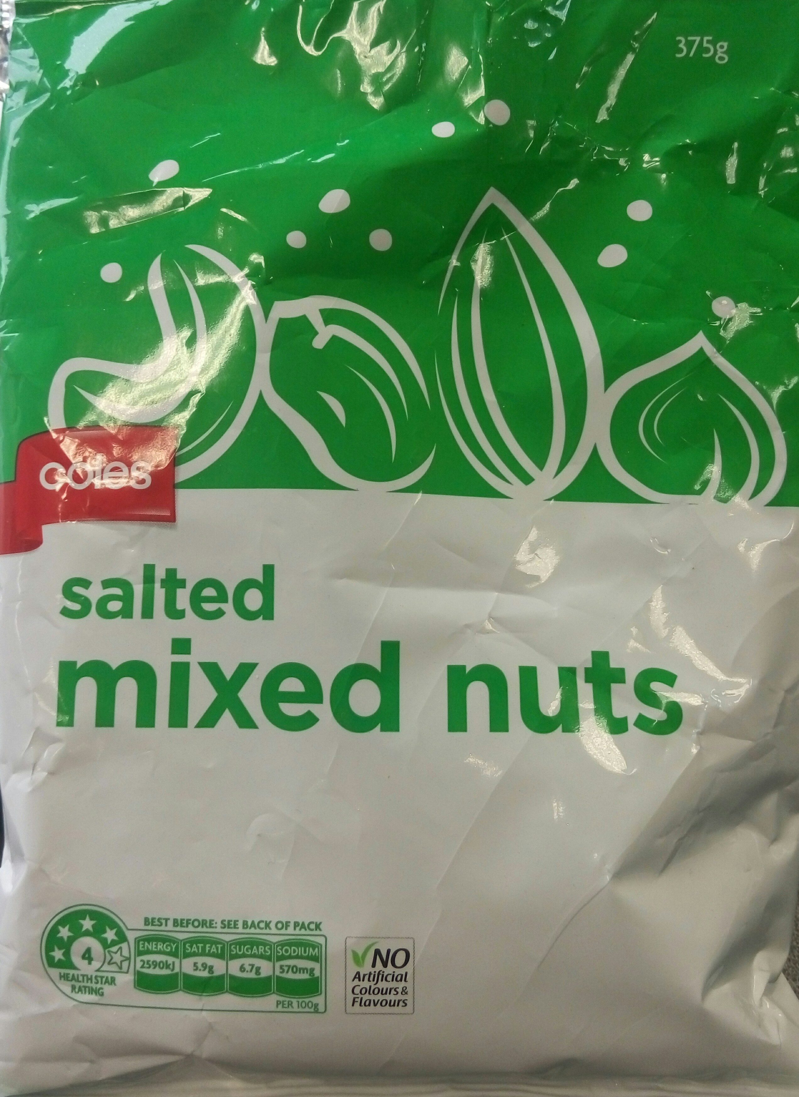 Salted Mixed Nuts - Product - en
