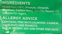 Salted Mixed Nuts - Ingredients - en