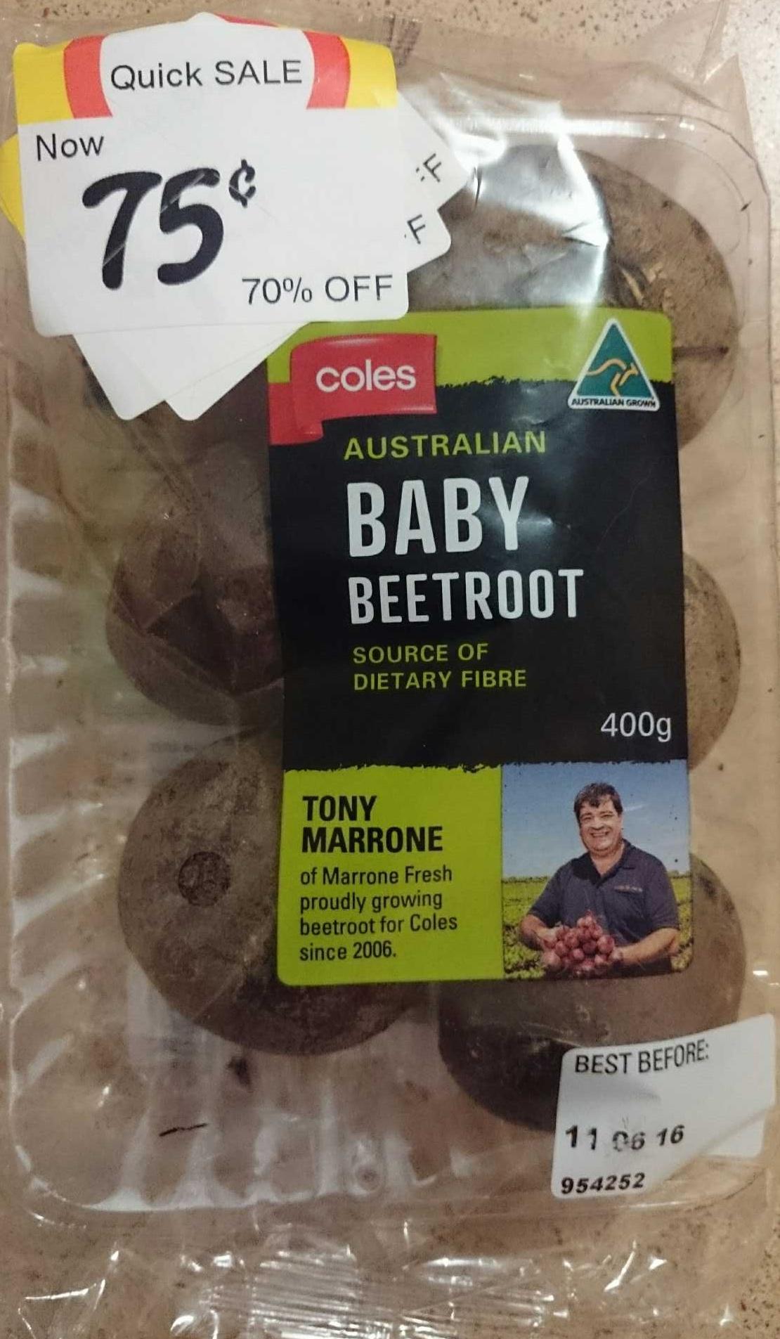 Australian Baby Beetroot - Produit