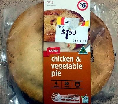 Chicken & Vegetable Pie - Product