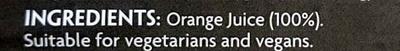 Orange Juice - Ingredients - en