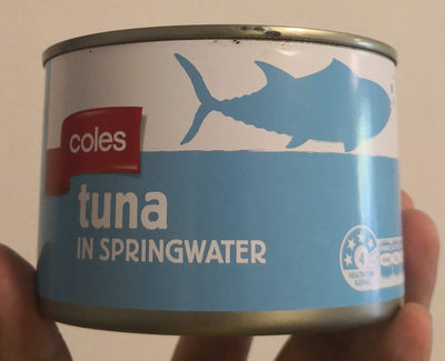 tuna in springwater - Product