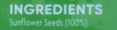 Sunflower Seeds - Ingrédients - en