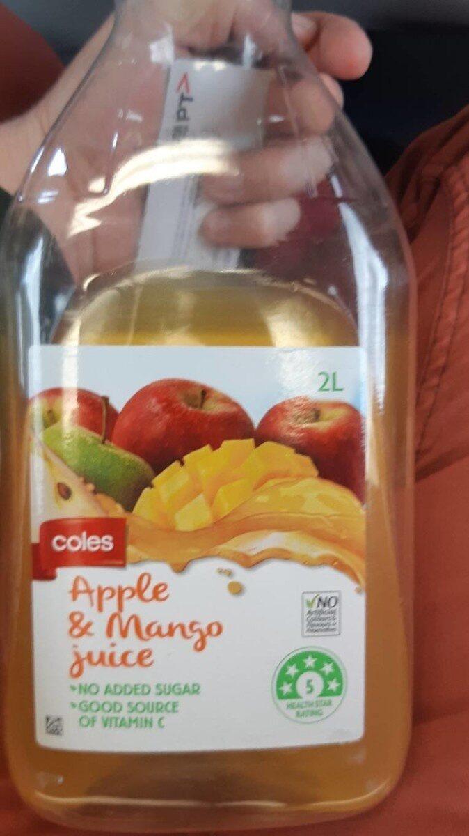Apple and mango juice - Produit