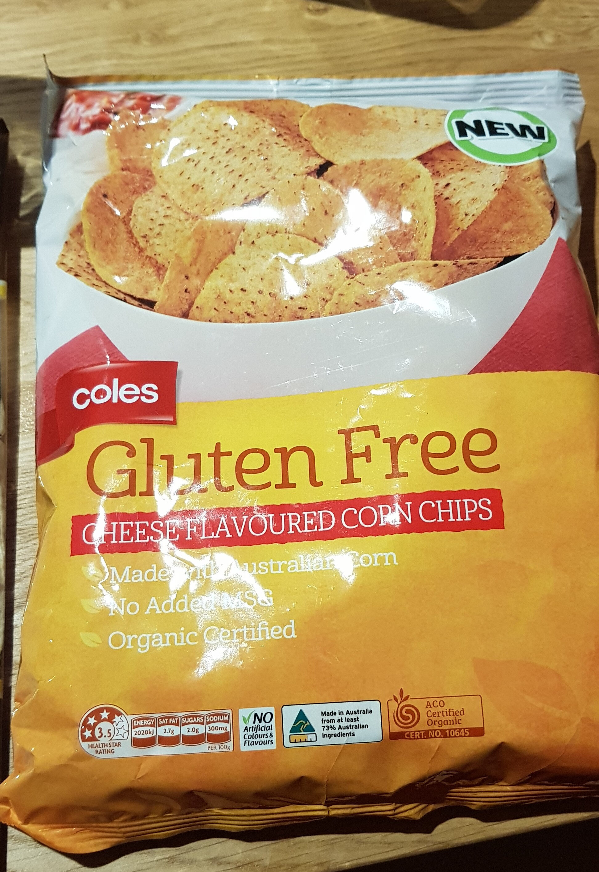 Cheese Flavoured corn chips - Product - en
