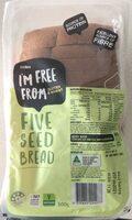 Five seed bread - Product - en