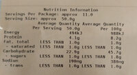 Finest Sourdough Rye Vienna - Nutrition facts - en
