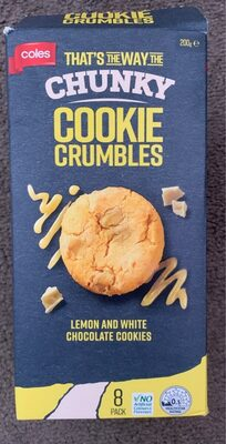 Cookies crumbles - Product - en