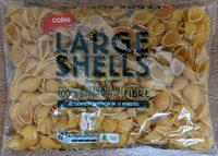 Coles Large Shells - Product - en