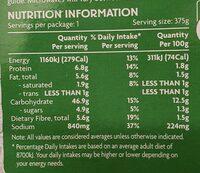 Singapore Noodles - Nutrition facts - en