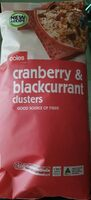 Cranberry & blackcurrant clusters - Product