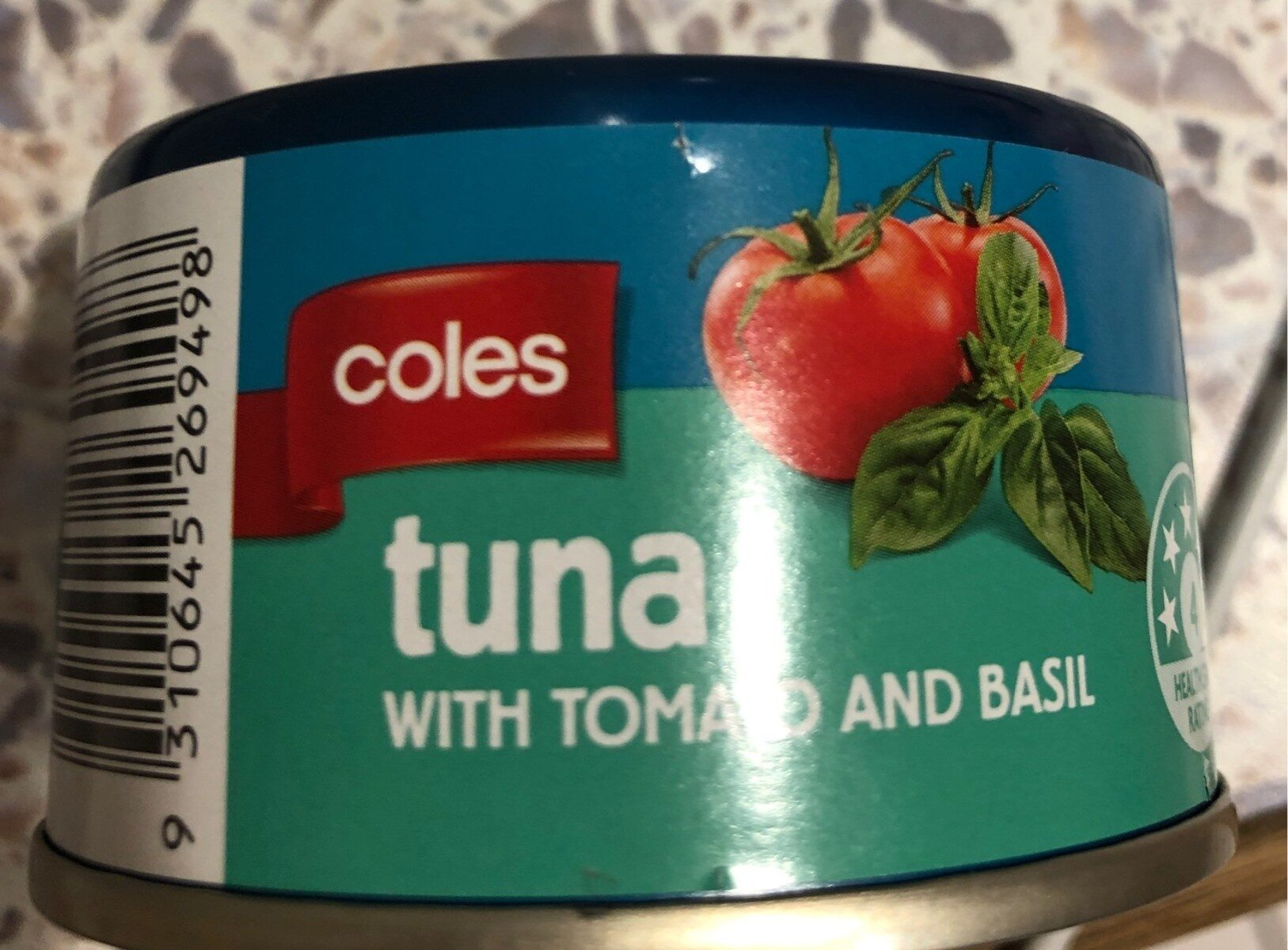 Tuna with tomato and basil - Product - en
