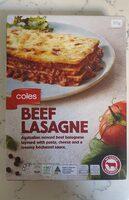 Beef Lasagne - Product - en