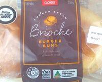 Brioche Burger Buns - Product - en