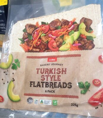 Turkish style flat bread - Product - en
