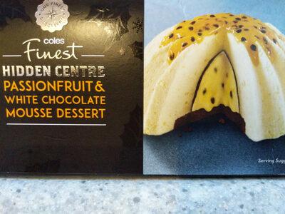 Hidden Centre Passionfruit & White Chocolate Mousse Dessert - Product - en