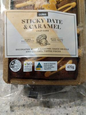 Sticky Date & Caramel Loaf Cake - Product - en