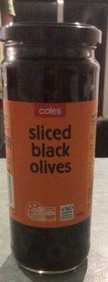 Sliced Black Olives - Product - en