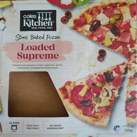Loaded Supreme Stone Baked Pizza - Product - en