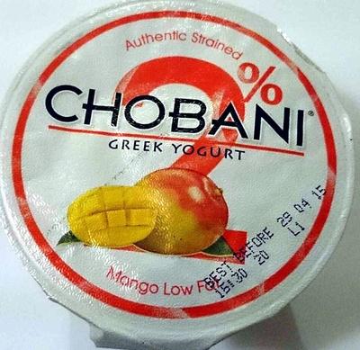 Greek Yogurt - Mango Low Fat - Product