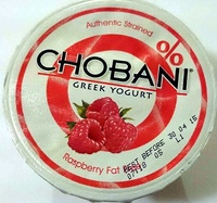 Chobani Greek Yogurt - Raspberry - Product
