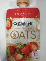 Strawberry Greek yogurt - Product